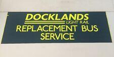 "Bus Blind 2307 42""- Docklands Light Rail Replacement Bus Service"