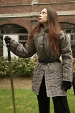 Medieval Costume Gambeson Reenactment Roman Gray Color Fancy Style