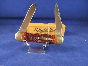 "Remington USA 1985 Bullet ""Woodsman"" Knife Mint Factory Box R4353"