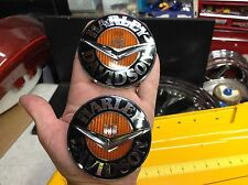 Genuine Harley CVO Road King Gas Fuel Tank Emblems Badge Touring Softail Dyna