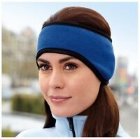 Women Mens Winter Skate Skiing Ear Warmer Soft Fleece Headband Hair Band
