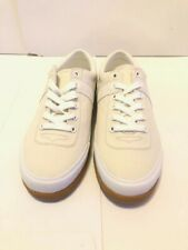 HUNTER MENS ORIG SNEAKERS LO-CANVAS WHITE SIZE UK 6