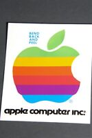 Vintage Apple Computer Inc. 1980's Rainbow Sticker
