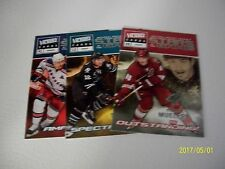 LOT OF 3 UD VICTORY  09-10  STARS OF THE GAME WITH NASLUND-MARLEAU-MUELLER