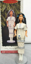 HALLMARK 1996 NATIVE AMERICAN Barbie  #1 Dolls of the World Series New