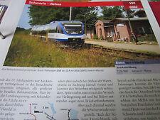 Archiv  Eisenbahnstrecken 152 Schwerin Rehna
