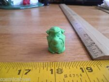Fred Flintstone 1980's promotional pencil topper figural bust eraser green