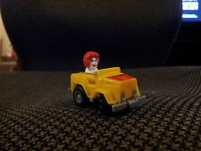 McDonalds Fast Macs Pull-Back Car-Ronald McDonald Friction Powered 1985