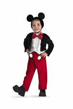 Disney Club House Mickey Mouse Deluxe Classic Costume Dress Toddler Boys 3T-4T