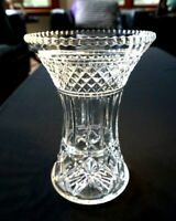 Beautiful Heavy Vintage Crystal Vase.