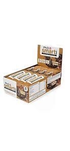 PHD Smart Bar-High Protein Low Sugar Dark Choc Caramel Crunch 64g Pack of 12