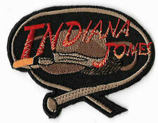 Indiana Jones Patch Embroidered Badge Costume Whip & Hat Cosplay Applique