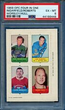 1969-70 O-PEE-CHEE FOUR IN ONE - HULL, WORSLEY ++  -  PSA  6  EXMT *(SLOTH55)*
