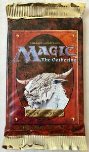 Magic The Gathering 4th EDITION Factory Sealed Booster Pack (15 cards) - English