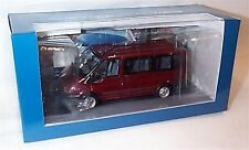 Ford Transit Mini Bus Burgundy 1-43 scale Minichamps new in case boxed