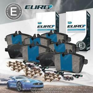 8Pcs Front + Rear Bendix Euro Brake Pads Set for BMW 5 M5 E39 7 E38 X5 E53