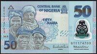 2013 Nigeria 50 Naira Polymer Banknotes * UNC * P-40d *
