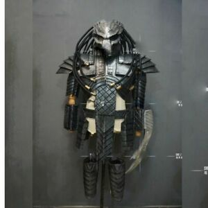 Unisex Halloween Party Costume Alien Predator Jagged Warrior Armor Cosplay Sets