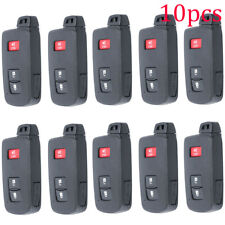 10x Case for Toyota Remote Smart Key FCC ID HYQ14FBA 3 Button Pad Shell Repair