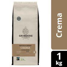 Grinders Medium Roasted Crema Coffee Beans 1kg