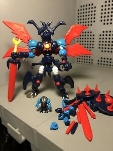 The Godbeast Super Dx Ray Mushi Glyos Figure Loose Complete Mazinger Tranzor Z
