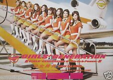 "GIRLS' GENERATION ""GIRLS & PEACE"" ASIAN PROMO POSTER - Girls On Airplane Steps"