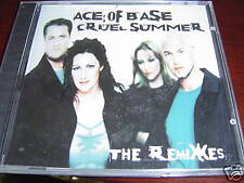 ACE OF BASE CRUEL SUMMER Remixes CD Sealed 5 Trk