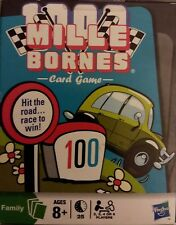 Mille Bornes Card Game light outer box wear factory SEALED deck free shp & insrn