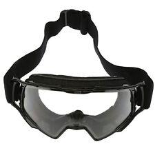 Motorcycle Motorcross Snowboard Goggles Anti UV Black Frame Protective Eyewear