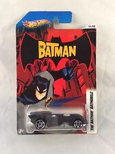 The Batman Batmobile 2012 Hot Wheels Batman - NOC