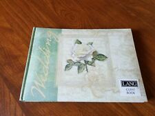 Wedding Guest Book by Lang,  NWT
