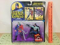 Legends of Batman Pirate Batman, Pirate Two-Face action figure, FREE shipping