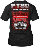 Cool - Ptsd Some Wounds Are Invisible But They More Hanes Tagless Tee T-Shirt