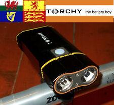 Torchy BK650  650 Lumen 2x Cree XM-L U2  USB  Road,  MTB front Light