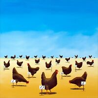 Robert Deyber - The Pecking Order, hand-signed lithograph