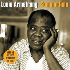 Louis Armstrong - Summertime - 40 Greatest Recordings (2CD 2013) NEW/SEALED