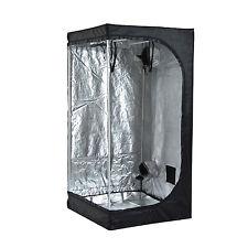 3.3' x 3.3' x 6.6' Oxford Mylar Hydroponics Grow Tent Reflective Room Grow Box