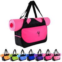 Sport Mat Bag Tote Holder Waterproof Carrying Gym Fitness Handbag Multifunction