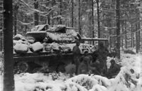 WWII photo anti-tank MU 10 during the Ardennes operation 31#