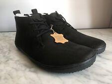 VIVOBAREFOOT GOBI II M Black Leather Shoes Boots 300041-09 9.5UK 44 EU 10.5 US