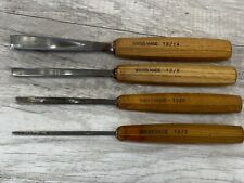 Pfeil Swiss Made Straight V-Parting Gouge Carving Tool No 12/3 12/6 12/8 12/14