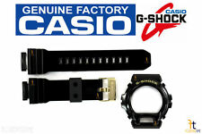 CASIO G-Shock GD-X6900FB-1 Black (Glossy Finish) Rubber BAND & BEZEL Combo