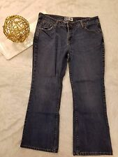 Levis Signature Womens Jeans Size 14 Short Low Rise Stretch Boot Cut