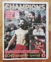 Liverpool Echo - Champions - Souvenir Special - Liverpool FC Win Premier League