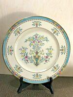 """Vintage Lenox Blue Tree Dinner Plate 10-3/4"""" , Gold Trim and Back Stamp"""