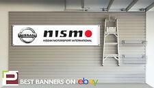 Nissan Nismo Workshop Garage Banner, GT-R, Juke, 350z, 370z