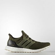 Adidas Ultra Boost 3.0 Olive Gum Sole Size 10.5. S80637 Yeezy PK NMD