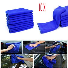 10pcs Microfibre Cleaner Car Detailing Washing Home Cleaning Soft Cloths Towel