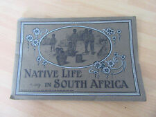 ALBUM PHOTO GRAVURES ANCIEN AFRIQUE DU SUD SOUTH AFRICA 1950