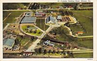 Albany Georgia~Aerial View~Cudahy Packing Plant~Windowless Factory~1938 Linen PC